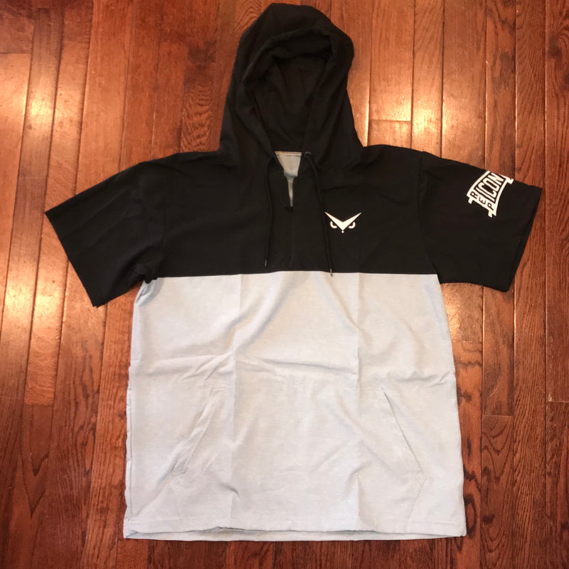 "Iconic ""Poody"" 1/4 Zip Hooded BP Jacket"