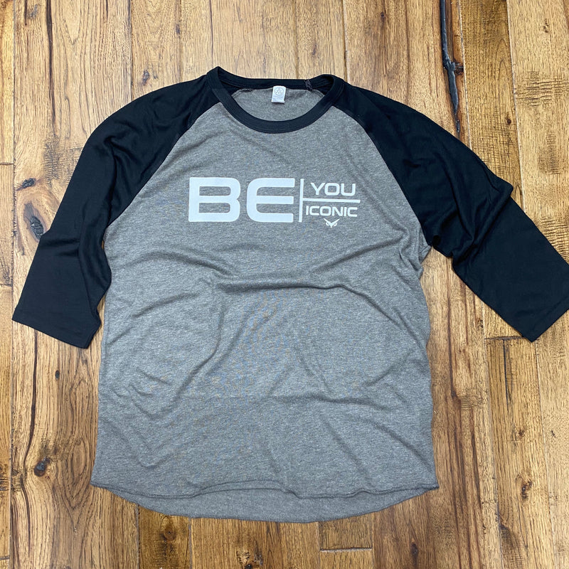 Iconic - Be You - Vintage Jersey Baseball T-Shirt