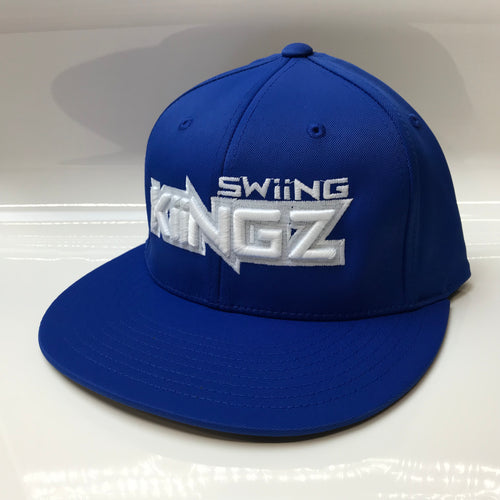 Swiing Kiingz Hat - Royal/White