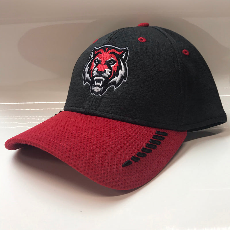 ADM Tigers Hat - Shadow Stretch Heather Red/Black