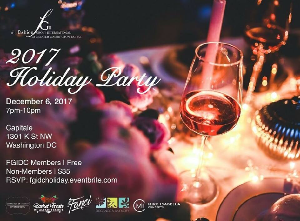 FGIDC x Sun Gods - 2017 Fashion Holiday Party!