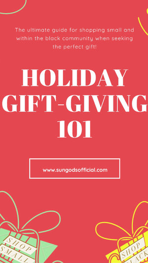 Buy Black Holiday Gift Guide!