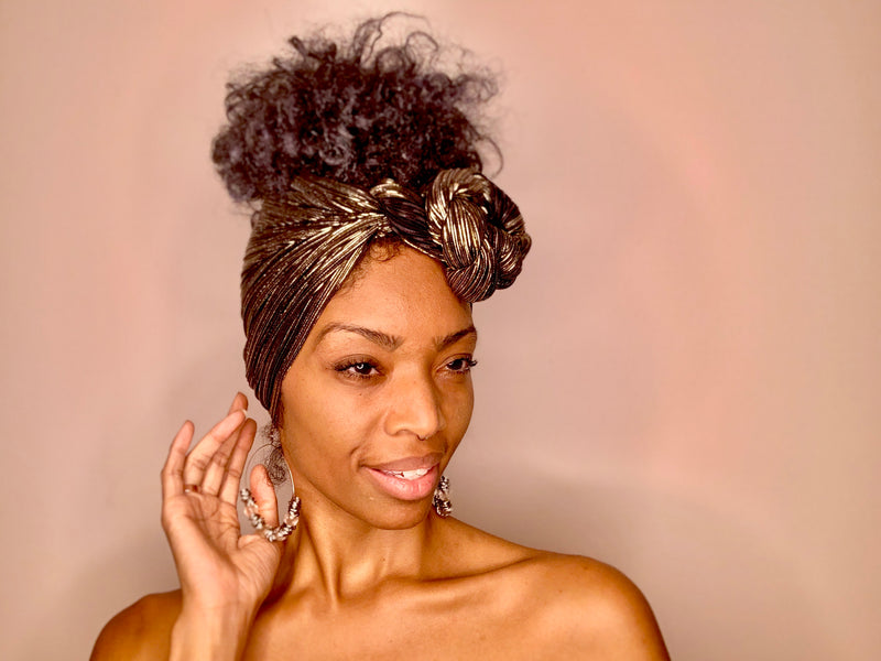 The Goldie Headwrap