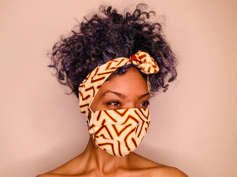 The Pemba Headwrap Matching Set