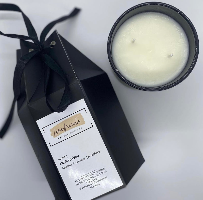 Relaxation Candle by Lene Nicole Candle Company