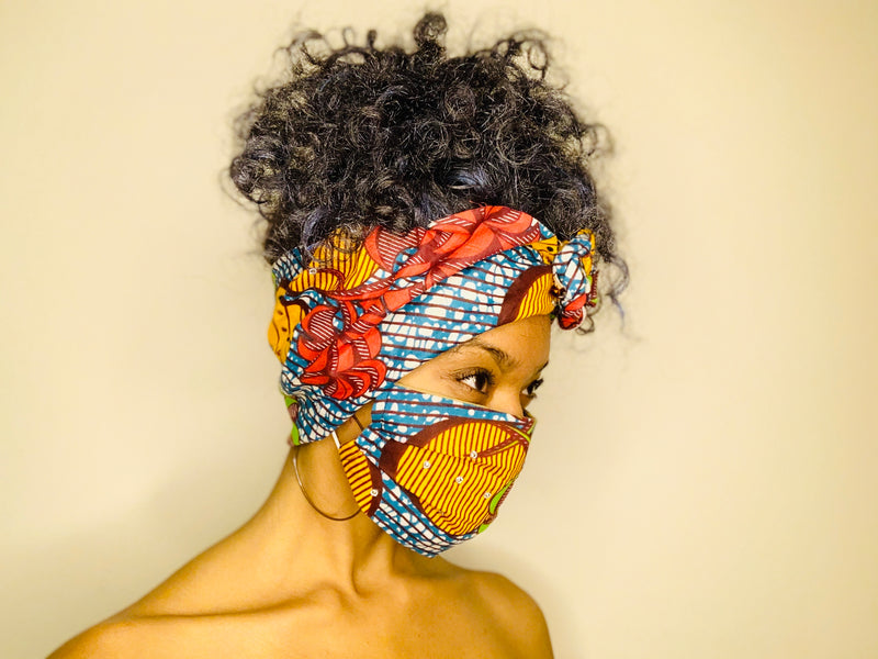 The Isabelle Headwrap Matching Set