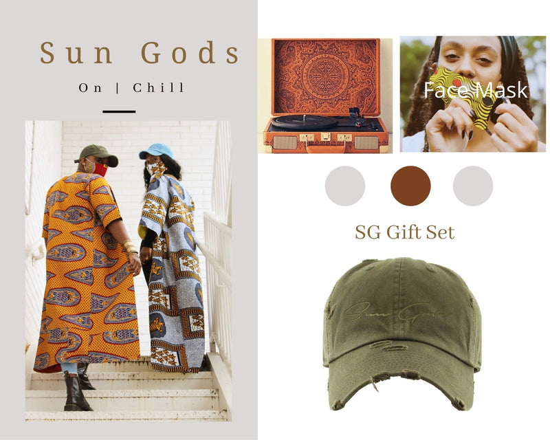 Sun Gods Duster Gift Set