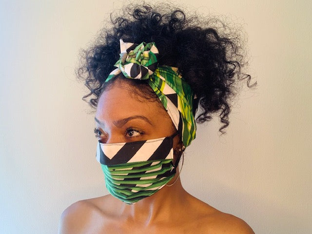 The Yahya Headwrap Matching Set