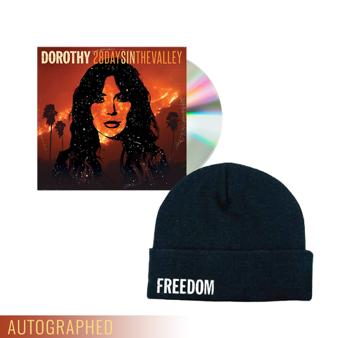 """28 Days In The Valley"" CD + Beanie **WHILE SUPPLIES LAST**"