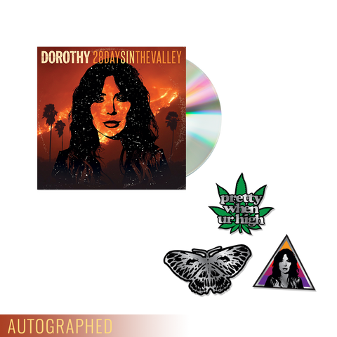"""28 Days In The Valley"" CD + Enamel Pin Set **WHILE SUPPLIES LAST**"