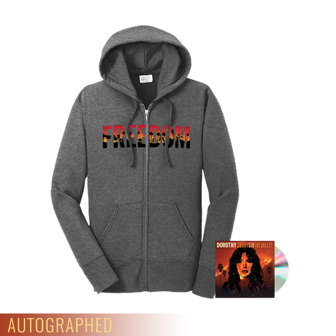 """28 Days In The Valley"" CD + Hoodie **WHILE SUPPLIES LAST**"