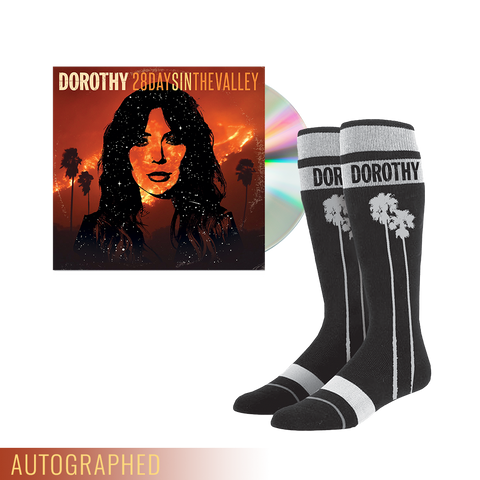 """28 Days In The Valley"" CD + Socks **WHILE SUPPLIES LAST**"