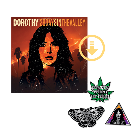 """28 Days In The Valley"" Digital Album + Enamel Pin Set"