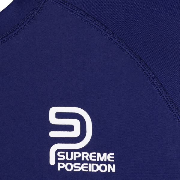 SUPREME POSEIDON Mens Phantom Rashguard | UV Protection UPF 50+ | Performance Fit Quick Dry | Long Sleeve