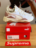 New Puma Runners White/Gold Size 7 GS