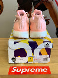 "New Adidas Ultra Boost ""Pink"" Sz 7y GS"