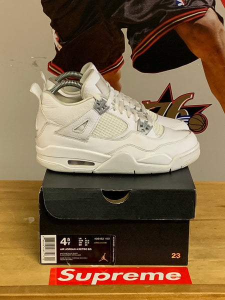 "Air Jordan 4 ""Pure Money"" Size 4.5y"