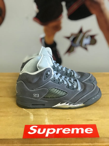 Air Jordan 5 Wolf Grey sz 6.5y No Box