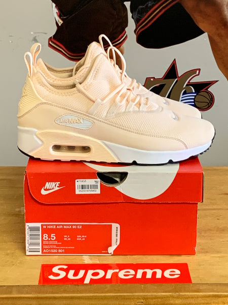 New Wmns Air Max 90 EZ Peach/White Size 8.5 Wmns