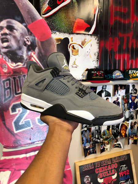 "Air Jordan 4 ""Cool Grey"" Size 11"