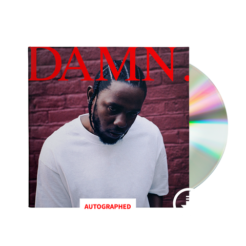 DAMN. Limited Edition Autographed CD + Digital Album