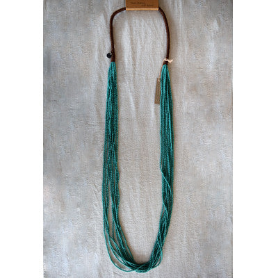 Chan Luu EFI 10 Strand Solid Seed Bead Necklace