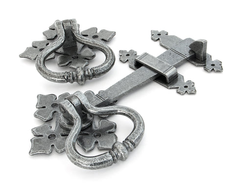 Pewter Shakespeare Latch Set