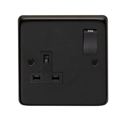 MB Single 13 Amp Switched Socket