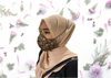 Plain Cotton Mask (Reusable) with Head Loop