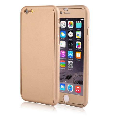 iPhone - Full Body Coverage Case (Gold)