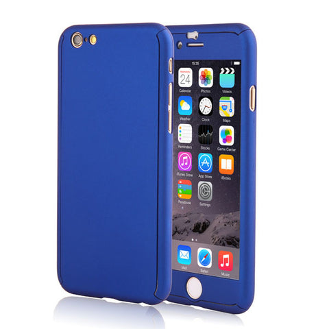iPhone - Full Body Coverage Case (Blue)