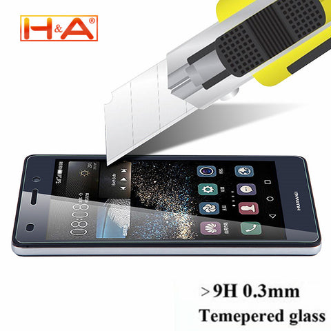 Huawei 9H 2.5D Tempered Glass for Ascend P6 P7 P8 P9
