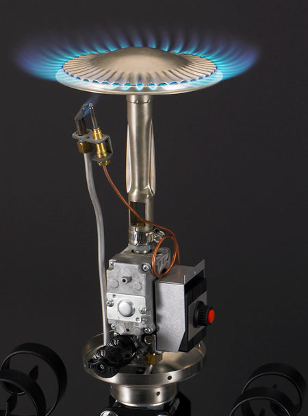 A242B/A242SS Portable Natural Gas Patio Heater with D.S. Ignition