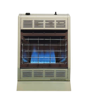 BF20LP/BF20NAT Empire Blue Flame Heater 20,000 BTU Thermostat