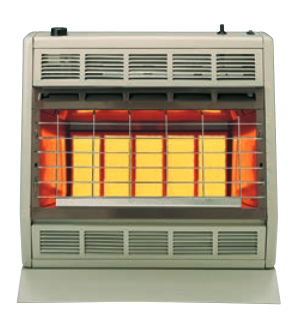 SR30TLP/SR30TNAT Empire Infrared Radiant Heater 30,000 BTU with Thermostat