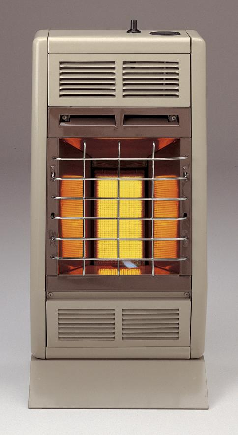 SR6LP/SR6NAT Empire Infrared Radiant Heater 6000 BTU