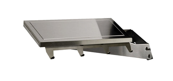 DPA153 Stainless Side Shelf Dropdown with Stainless Support