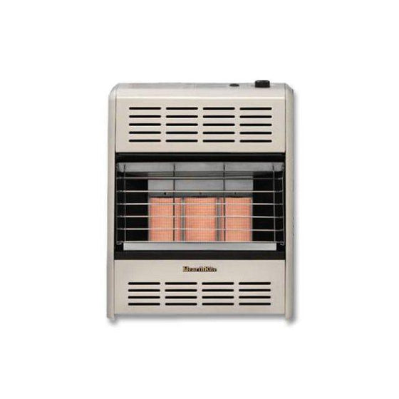 HR18TN HearthRite VF Radiant Natural Heater 18,000 BTU Natural Gas Thermostat Control