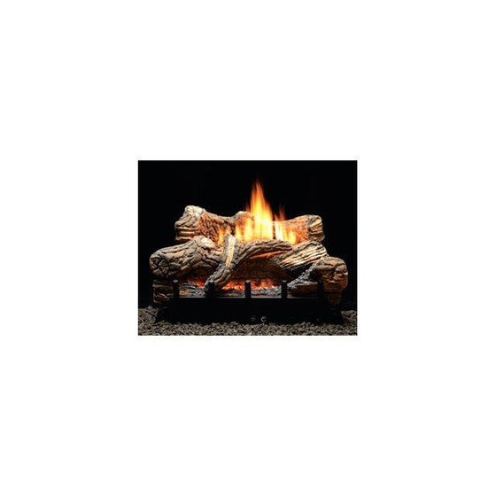 "VFDR24LBP/VFDR24LBN Flint Hill Gas Log Set Millivolt 24"" 34,000 BTU"