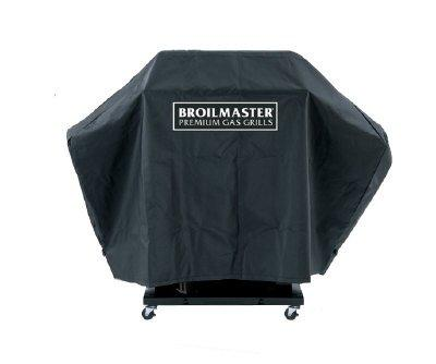DPA109 Full Length Broilmaster Premium Grill Cover with one side shelf