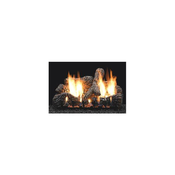 LS18C2/LS24C2/LS30C2/LS16C Charred Oak Ceramic Fiber Log Set
