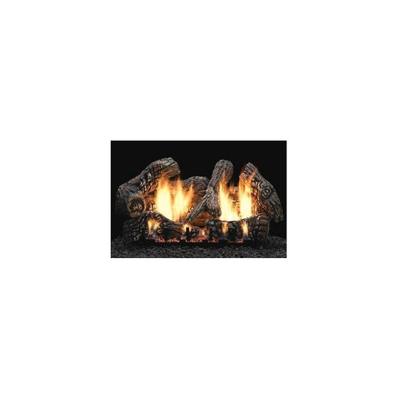 LS18C2S/LS24C2S/LS30C2S Super Charred Oak Ceramic Fiber Log Set