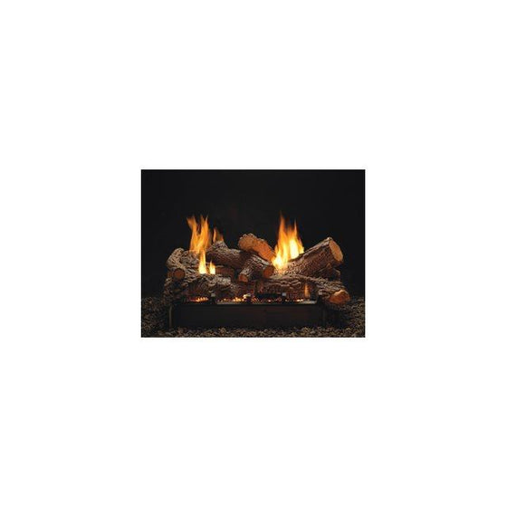 "VFSUE24P/VFSUE24N Slope Glaze Vista Burner Multi-Sided 24"" Vent-Free Intermittent"