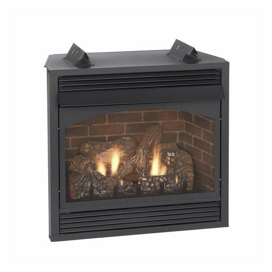 "VFP32BP71LP/VFP32BP71LN Vail 32"" VF Intermittent Fireplace w/ Blower 32,000 BTU"