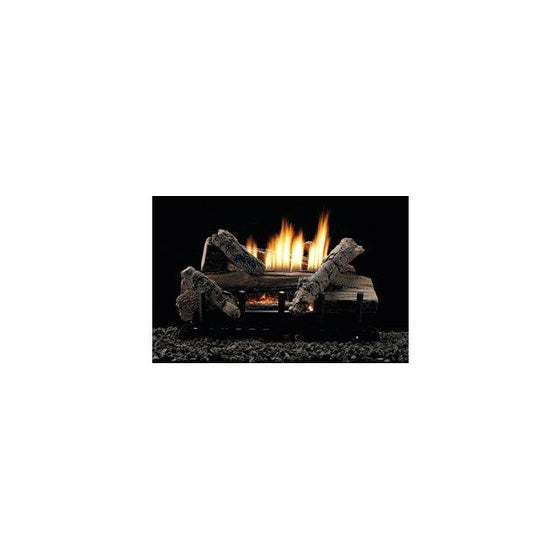 "VFDT24LBWP Whiskey River Log Set Thermostat 24"" Propane 34,000 BTU"