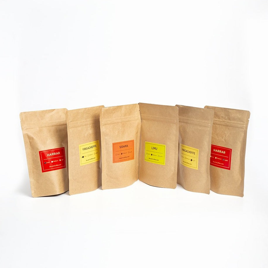 Buunni Coffee Sampler - Single Origin 6 pack