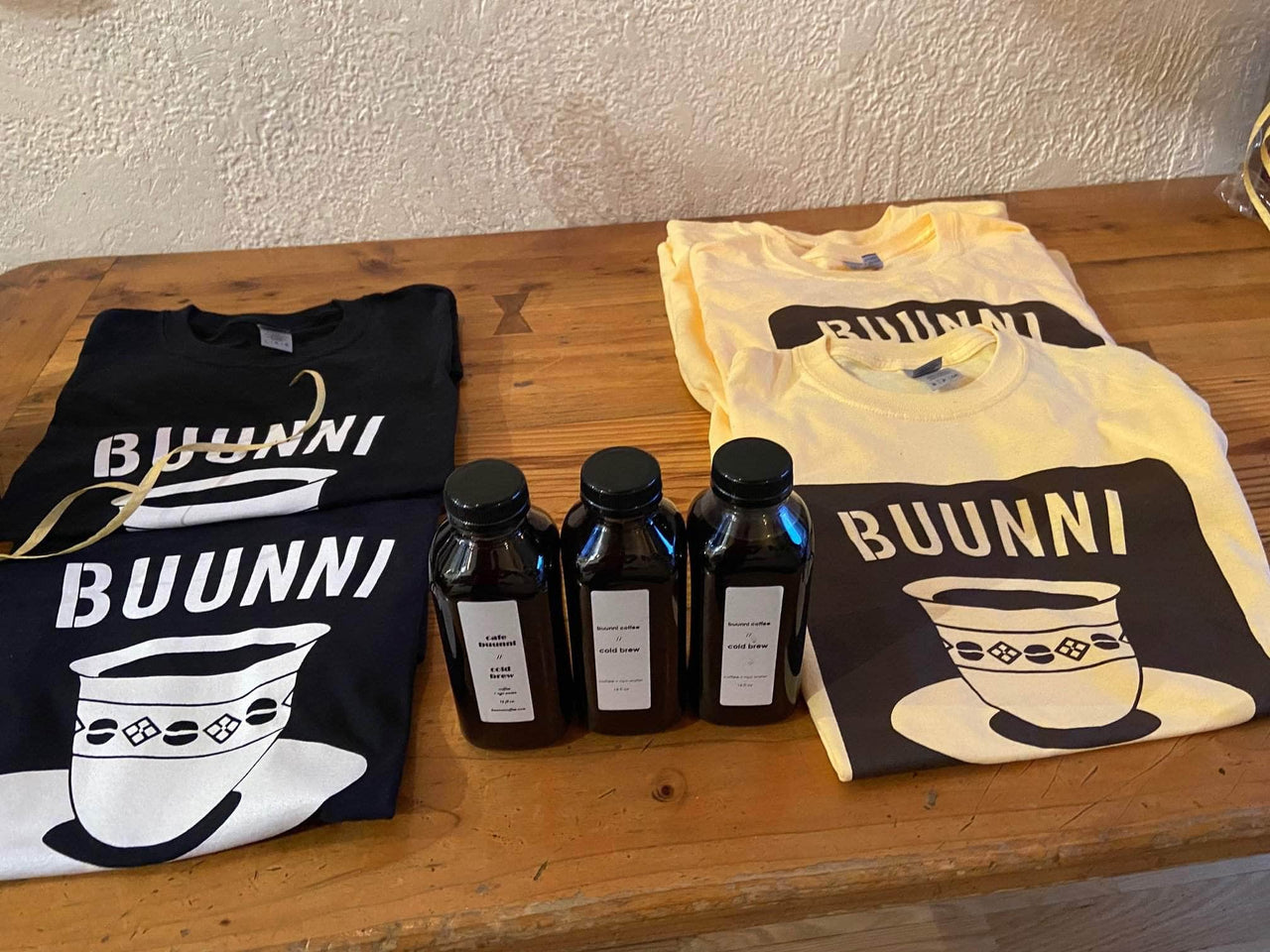 LOCAL ONLY: 3 pack of Buunni cold brew
