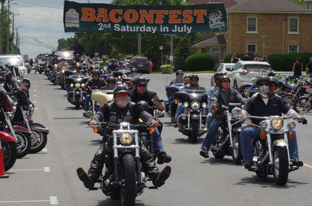 "July 14, 2018 - Baconfest ""Everything Bacon & Bikes"""