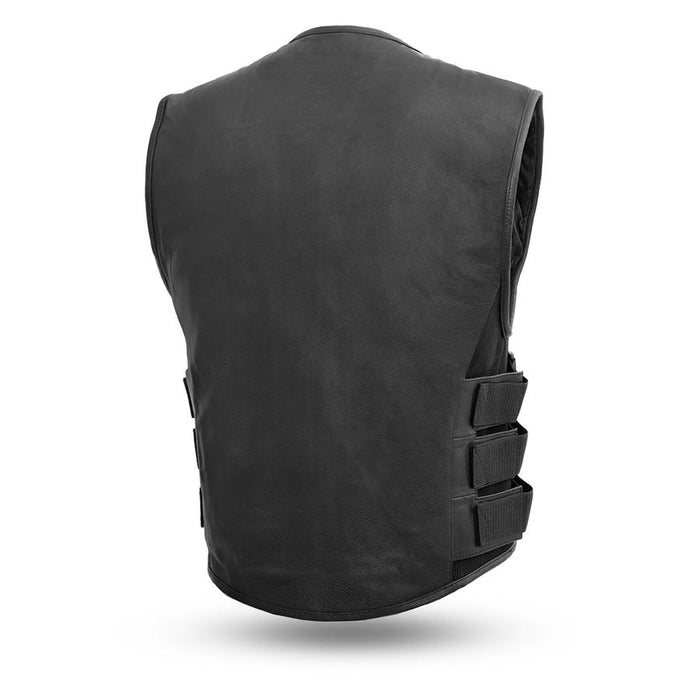 Commando Swat Style Leather Vest