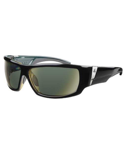 Bison Poly Black Green Gloss Frames